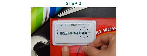 Using Greet-o-matic Step 2