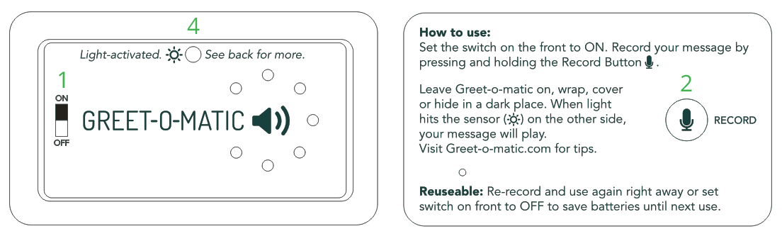 How to Use Greet-o-matic